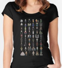 Buffy - Mini Monsters - The High School Years Women's Fitted Scoop T-Shirt