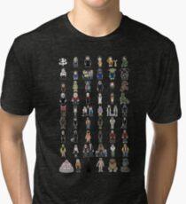 Buffy - Mini Monsters - The High School Years Tri-blend T-Shirt