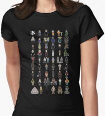 Buffy - Mini Monsters - The High School Years Women's Fitted T-Shirt