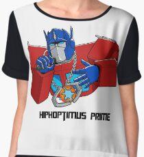 Hiphoptimus Prime Chiffon Top