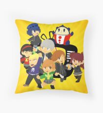the nicest kids in town Throw Pillow