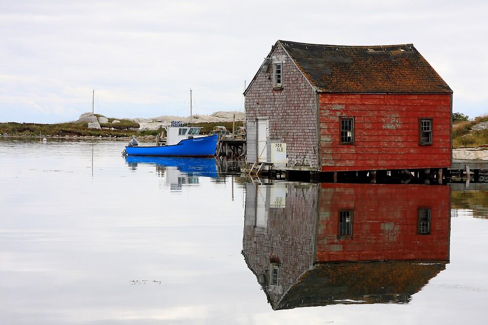 Prospect Bay Reflections by Dave Law