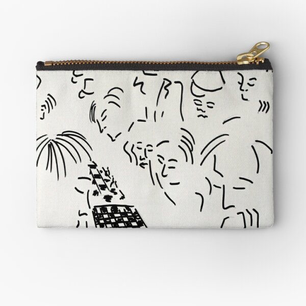 Speed Chess in New York  Zipper Pouch