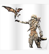 Borderlands - Mordecai Poster