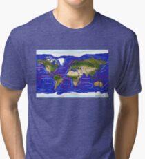 Ocean Currents Tri-blend T-Shirt