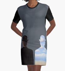 Magritte Graphic T-Shirt Dress