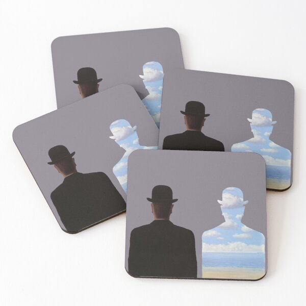 Magritte Coasters (Set of 4)
