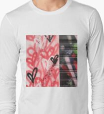 Hearts & Circles Long Sleeve T-Shirt