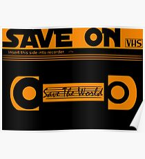 Save the World Poster