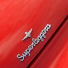 Alfa Romeo Superleggera Badge by Flo Smith