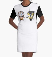 Borderlands pixel art Graphic T-Shirt Dress