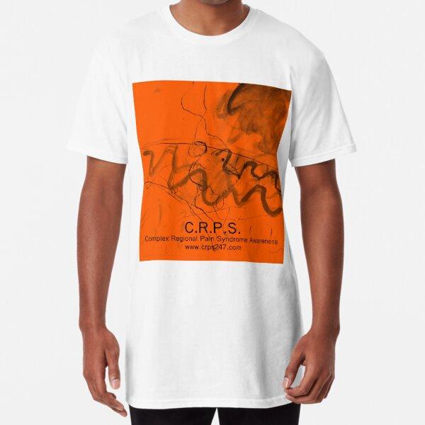 Complex Regional Pain Syndrome Awareness Design Long T-Shirt