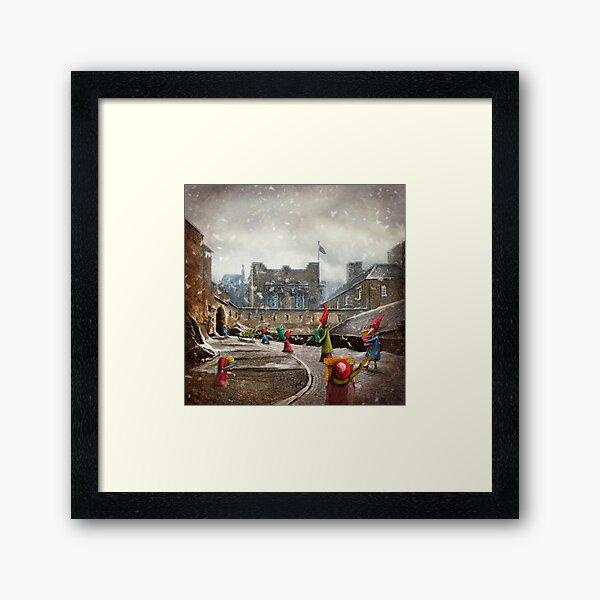 """""""The Christmas Bringers"""" Framed Art Print"""