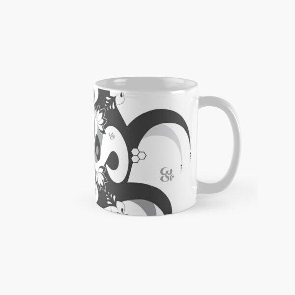 Shee Mandala Spiral with Om and Lotus Symbol Classic Mug