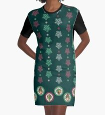 WhoVille Graphic T-Shirt Dress