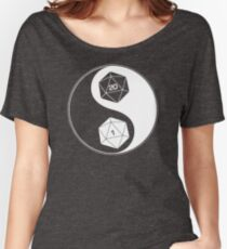 Christmas Gift Dungeons and dragons yin yang UU701 New Product Women's Relaxed Fit T-Shirt