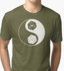 Christmas Gift Dungeons and dragons yin yang UU701 New Product Tri-blend T-Shirt