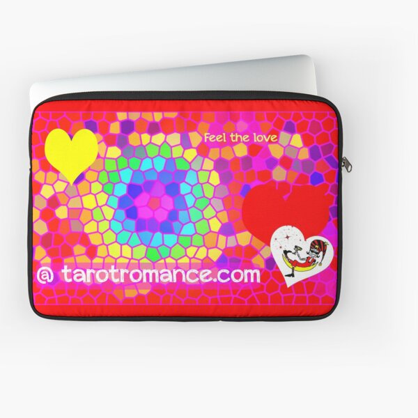 Feel the Love @ Tarot Romance Laptop Sleeve