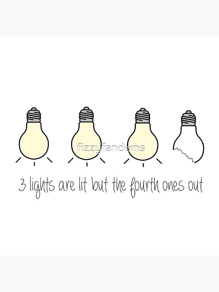 3 Lichter sind beleuchtet, aber ... von fizzyfandoms