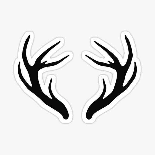 Antlers Sticker