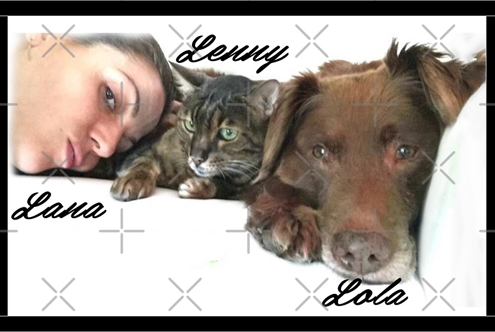 Lana, Lenny and Lola 3L by willow Lvl