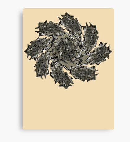 Star Twirl Canvas Print