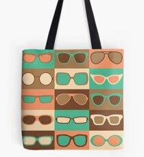 Fashion Eyeglasses Pattern Tote Bag