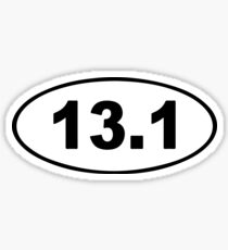13.1 - Running Sticker