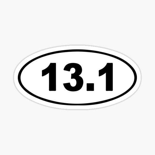 13.1 - Running Sticker