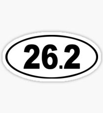 26.2 - Running Sticker