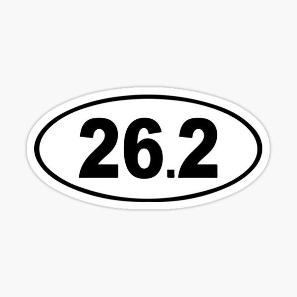 26.2 - Running Sticker