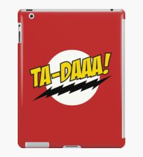 TA - DAAA! iPad Case/Skin