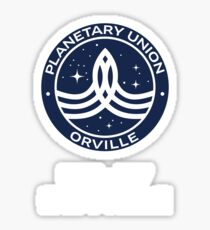 The Orville -  Planetary Union Logo - Number Sticker