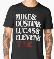 Trends Strange Mike & Lucas & Dustin & Eleven & Will Mens Gift Men's Premium T-Shirt