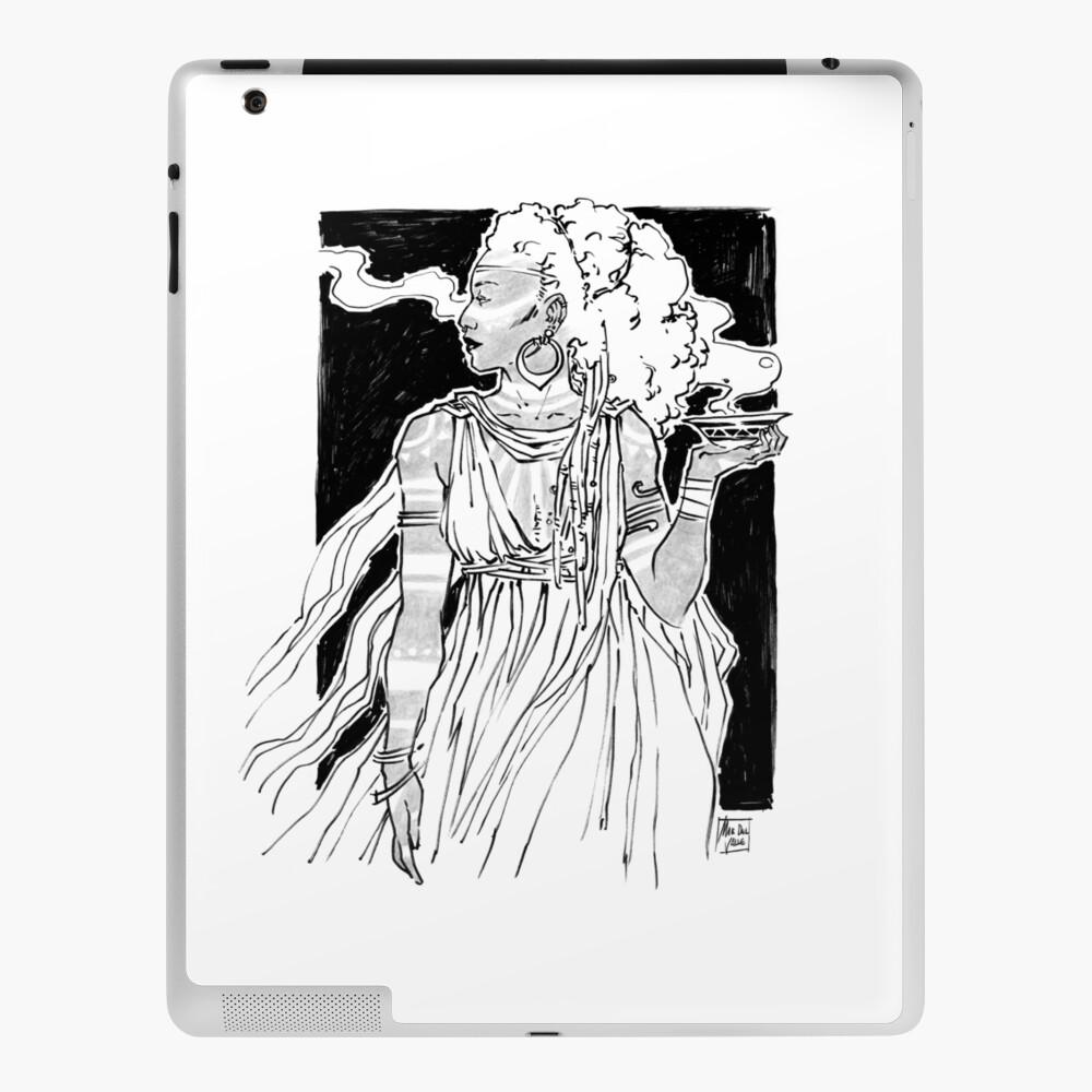 Divination Witch - Bruja de las Profecías - Oracle iPad Case & Skin