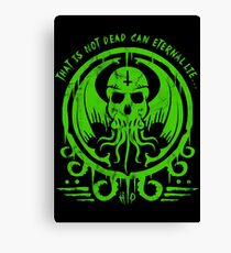 CTHULHU - LOVECRAFT Canvas Print