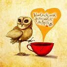 WHAT MY COFFEE SAYS TO ME MAY 11, 2015 by catsinthebag