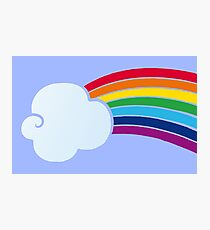 Beyond the Clouds, Over the Rainbow Photographic Print