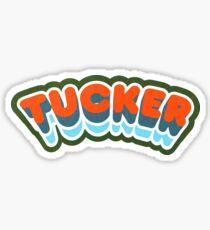 Tucker, GA | Retro Curve Sticker