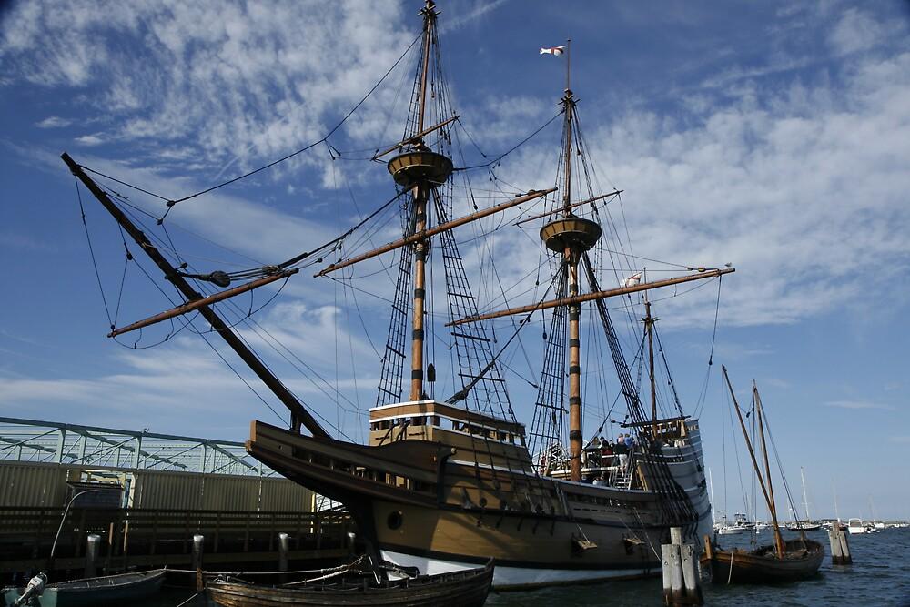 Mayflower (Replica) by Linda  Pedersen