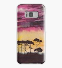 Africa sunset Samsung Galaxy Case/Skin
