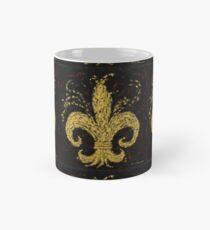 Gold Fleur De Lys Mug