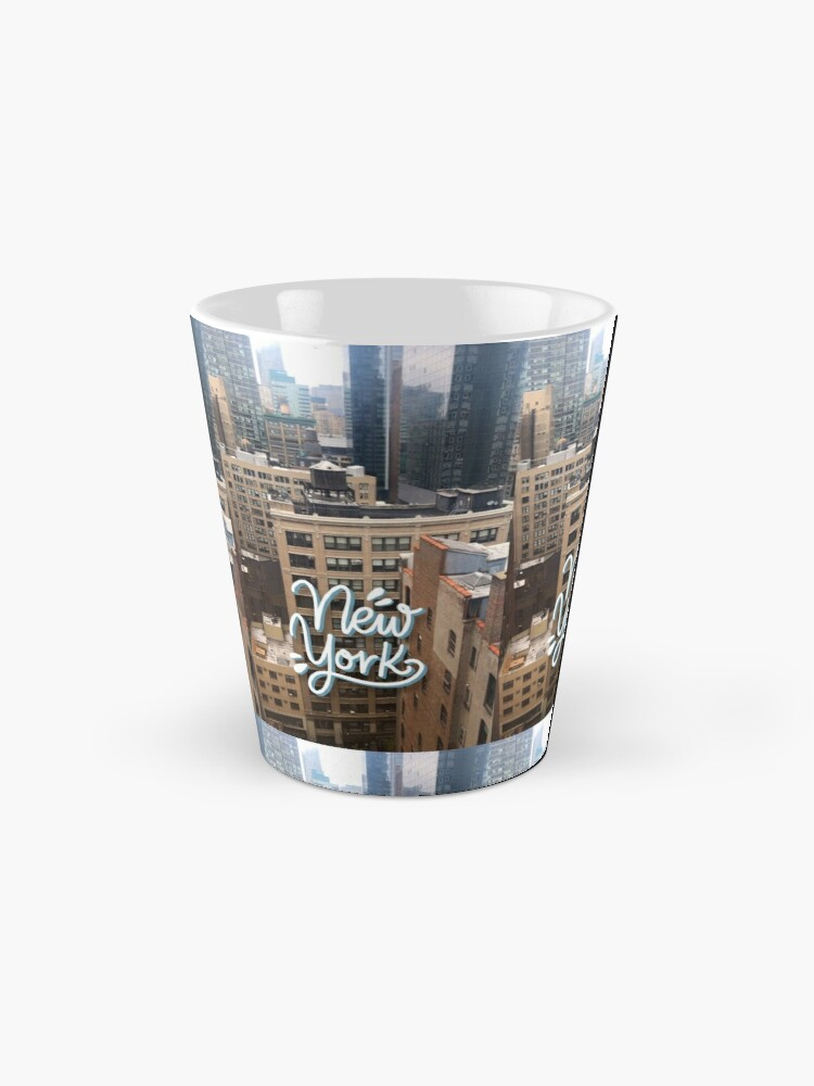 Alternate view of New York - Photography and Lettering Mug