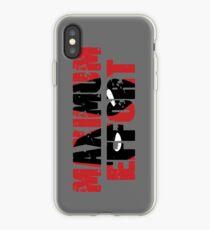 Maximum Effort iPhone Case