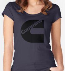 BEST SELLERS  EG389 Cummins Logo Dodge Ram Trending Women's Fitted Scoop T-Shirt