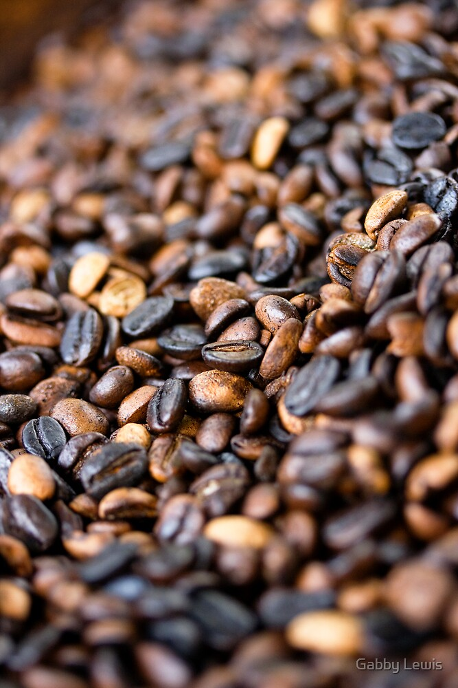 Coffee Beans by Gabby Lewis