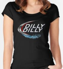 Dilly Dilly with Bud Light Women's Fitted Scoop T-Shirt