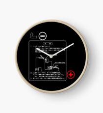 NISSAN Skyline R33 Fuse Cover white Uhr