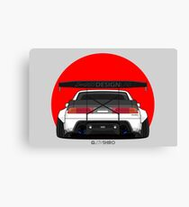 z31 Shiro 350z Rear-Bumper MODDED-01 Canvas Print