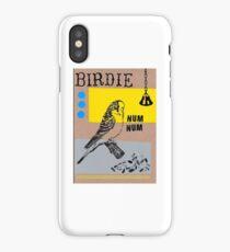 birdie num num picture iPhone Case